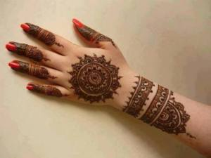 Best Arabic Mehndi Designs